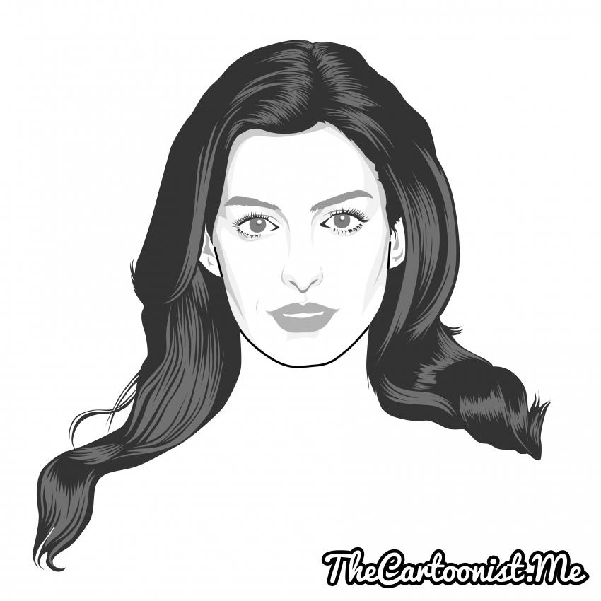 Anne Hathaway par TheCartoonist